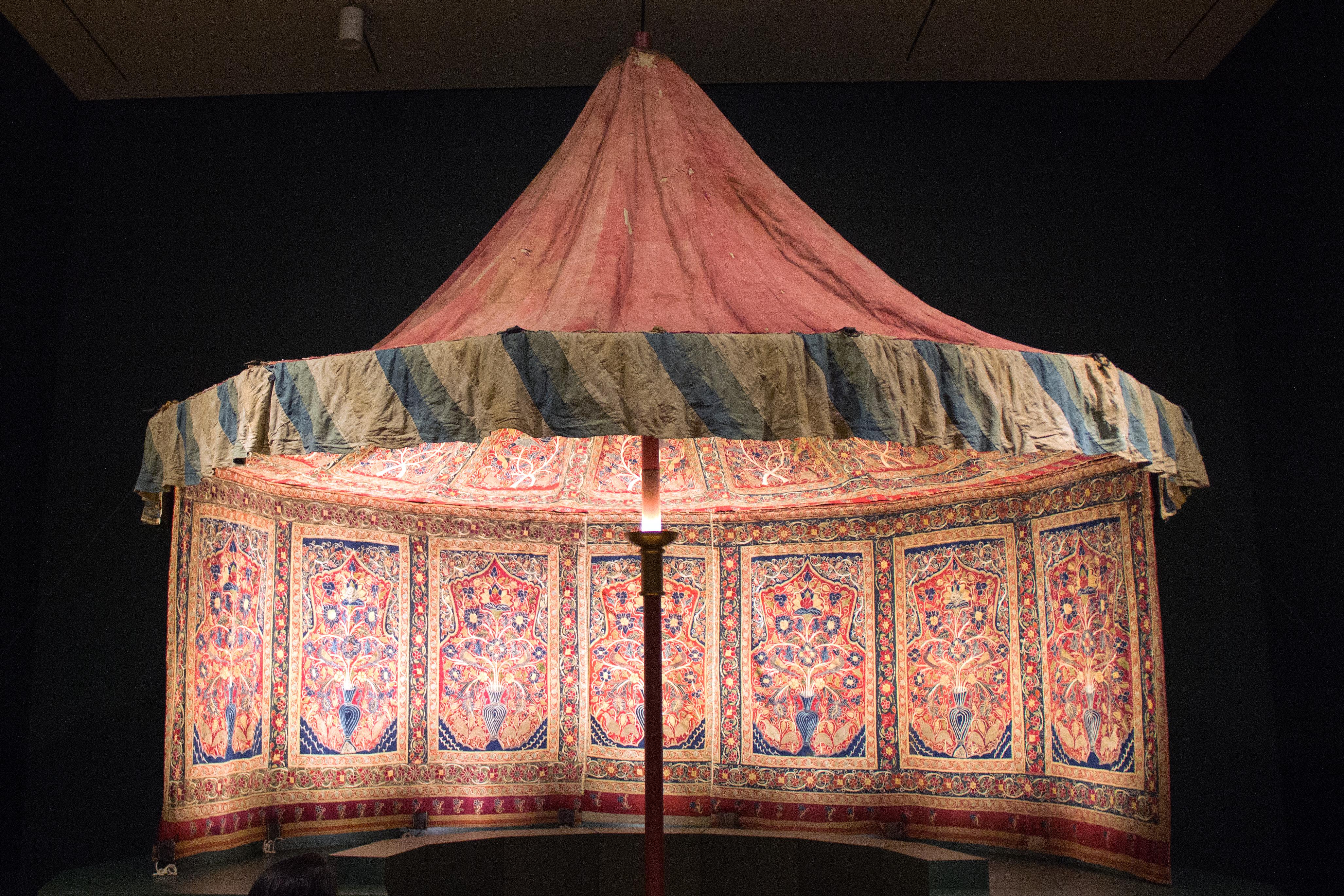 & At the Museum: Muhammad Shahu0027s Royal Persian Tent   Urban Explorer